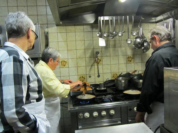Schnitzel-braten