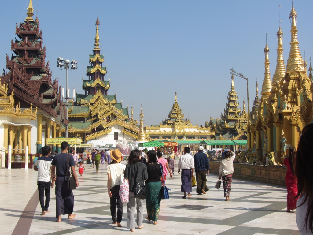 Tempel Yangon2